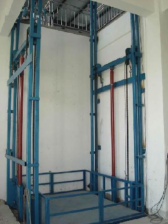 辽源货物升降机 导轨升降平台 100t液压升降货梯