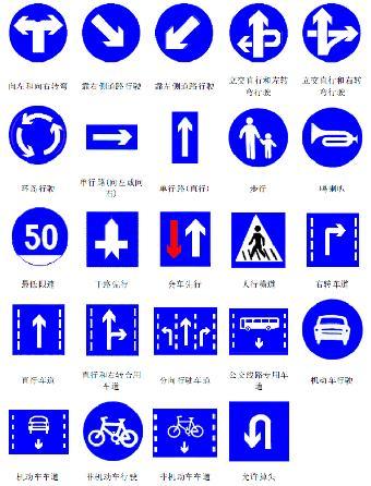 e)棕色:表示旅游区及景点醒项目的指示,用于旅游区标志的底色 f)黑色