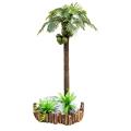 仿真椰子樹假椰樹室內裝飾熱帶樹 仿真棕櫚樹配底板