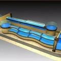 岭南天地广场定做不锈钢海鲜池鱼缸上门安装玻璃海鲜池