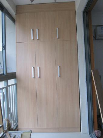 阳台储物柜实用设计图展示图片