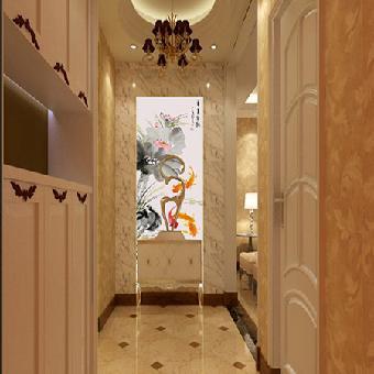 室内设计联盟新中式入户玄关