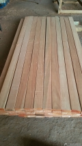非洲紅鐵木加工 紅鐵木墊木定做