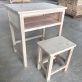 武漢學校實木桌椅宿舍床批發定制、中企眾和質量好售后
