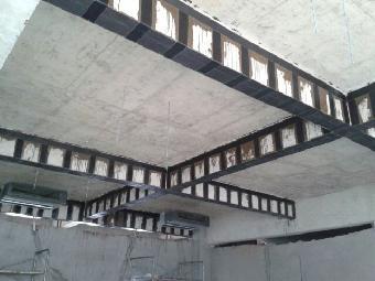 各种结构部位的加固修补,如梁,板,柱,屋架,桥墩,桥梁,筒体,壳体等结构