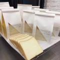 食品紙袋用牛皮紙 面包開窗袋用白牛皮紙 進口白牛皮