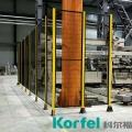 焊接工作站防護網定制 物流設備防護網廠家科爾福直銷