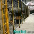 江蘇機器人護欄網定制 鋁型材隔離網廠家
