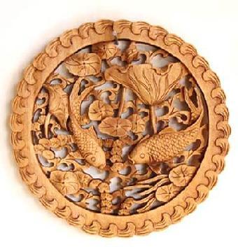 3:8 清18世纪初 紫檀木雕「螭变龙」纹           玫瑰