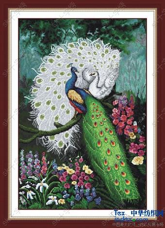 十字绣种类很多,分为钟表,风景,字画,静物,人物,卡通,花卉,动物