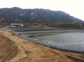 環保用周口扶溝養豬場沼氣池用防滲膜土工膜黑膜施工