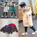 貴州赤水廠家地址年底清倉熱銷網紅爆款兒童面包服外套