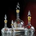 華山論劍小玻璃定制瓶 河間高硼硅手工吹制酒瓶
