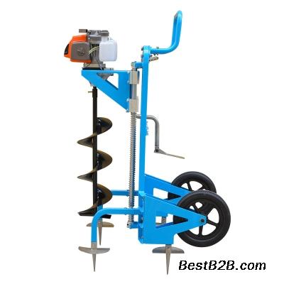 两冲程汽油挖坑机 手提式栽树挖坑机