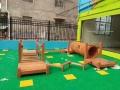 幼兒園兒童實木攀爬架感統訓練戶外組合攀爬網木制小屋