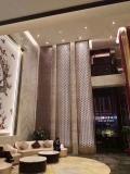 不锈钢屏风隔断简约现代金属中式定制餐厅酒店会所
