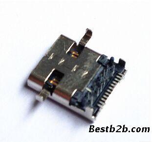 usb数据线母头电路板