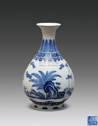 青花瓷/关键字:广州乾隆官窑瓷器