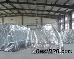现货供应扬州1.5米铝箔膜1.5米铝塑膜手工立体袋