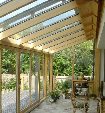 瑞格阳光房生活系统(rg-140)木结构阳光房 木制结构阳光房骨架选用