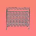 懸掛式小鼠籠架動物實驗專用小鼠飼養籠架