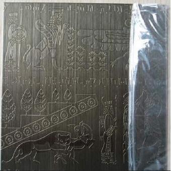青古铜不锈钢蚀刻板