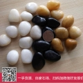 增城鵝卵石價格批發 園林鋪路石材黑色鵝卵石 拋光