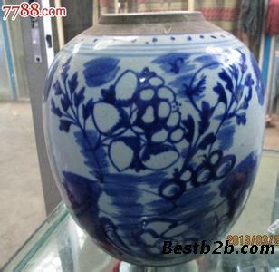 瓷罐子素描结构图