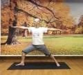 瑜伽让我的身体和心灵得到很好的洁净