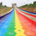 景區旱雪彩虹滑道設備