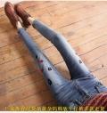 女士牛仔短裤批发哪里有外贸牛仔裤新款热销赶集货源