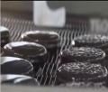 食品網帶適用于制作巧克力餅干