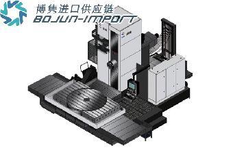 美国德国瑞士卧式CNC镗铣综合加工中心机进口报关