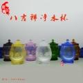 北京琉璃水杯定制,寺廟佛堂供杯工廠,拉薩八吉祥供杯