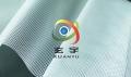 源頭工廠生產環保防塵防雨30絲厚PVC透明布網格布