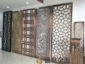 惠州定做家用酒店玫瑰金不锈钢屏风