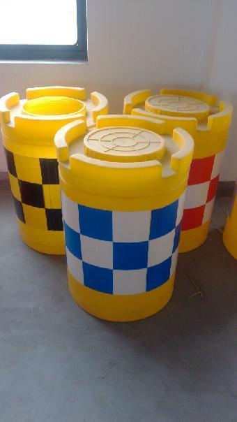 反光防撞桶价格 塑料防撞桶规格