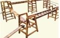 幼兒園組合攀登架 戶外大型碳燒積木 可凡戶外大型碳