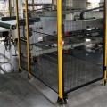 機器人車間隔離網 機器人安全護欄網廠家 科爾福接單