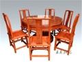 紅木餐桌家具不一樣的高檔與奢華