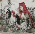 畫家李毅國畫作品收藏價值,支持定制