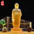 古法脫蠟阿彌陀佛琉璃佛像 阿彌陀佛生產藏家
