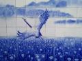 文化墻壁畫 定做陶瓷壁畫廠家