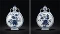 清乾隆青花六方瓶的歷史成交價格