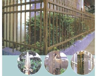 天津铁艺护栏,天津铁艺大门,中式,欧式铸铁,锻铁,天津艺术大门,阳台
