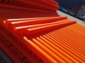 山西太原生产橘红色春原料mpp电力管高压埋地管规格