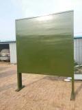 宁夏400米障碍场高墙价格 部队训练器材