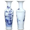景德鎮陶瓷落地大花瓶 仿古錦銹山河青花瓷 客廳擺件