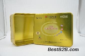 玉米胚芽钛粉包装保健食品铁盒包装厂家定制