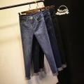 工厂韩版牛仔裤亏本处理尾货在广州牛仔裤市场批发